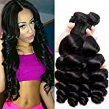 Peruvian Loose Wave 4 Bundles 8 10 12 14 Inch Short Hair Bundles Unprocessed Virgin Human Hair Weave Double Weft Real Human Hair For Women Wholesale Hair Extensions Vendors Natrual Black