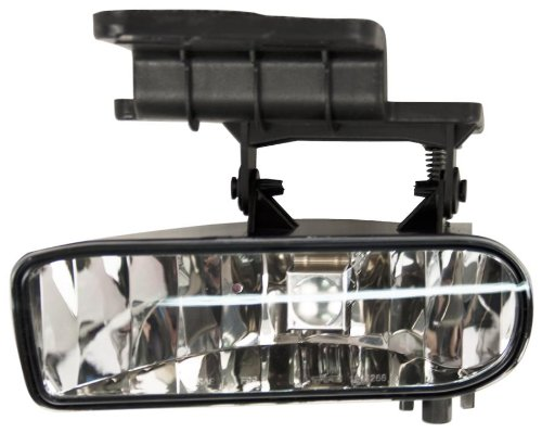 OE Replacement Chevrolet Blazer/Tahoe/Silverado/Suburban Driver Side Fog Light Assembly (Partslink Number GM2592113) (Oe Fog Lights For 02 Tahoe)
