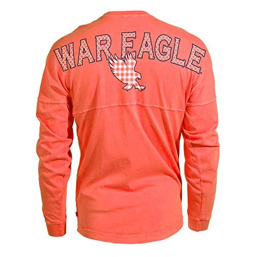 Official NCAA Auburn Tigers WAR EAGLE! Womens Spirit Wear Jersey T-Shirt M