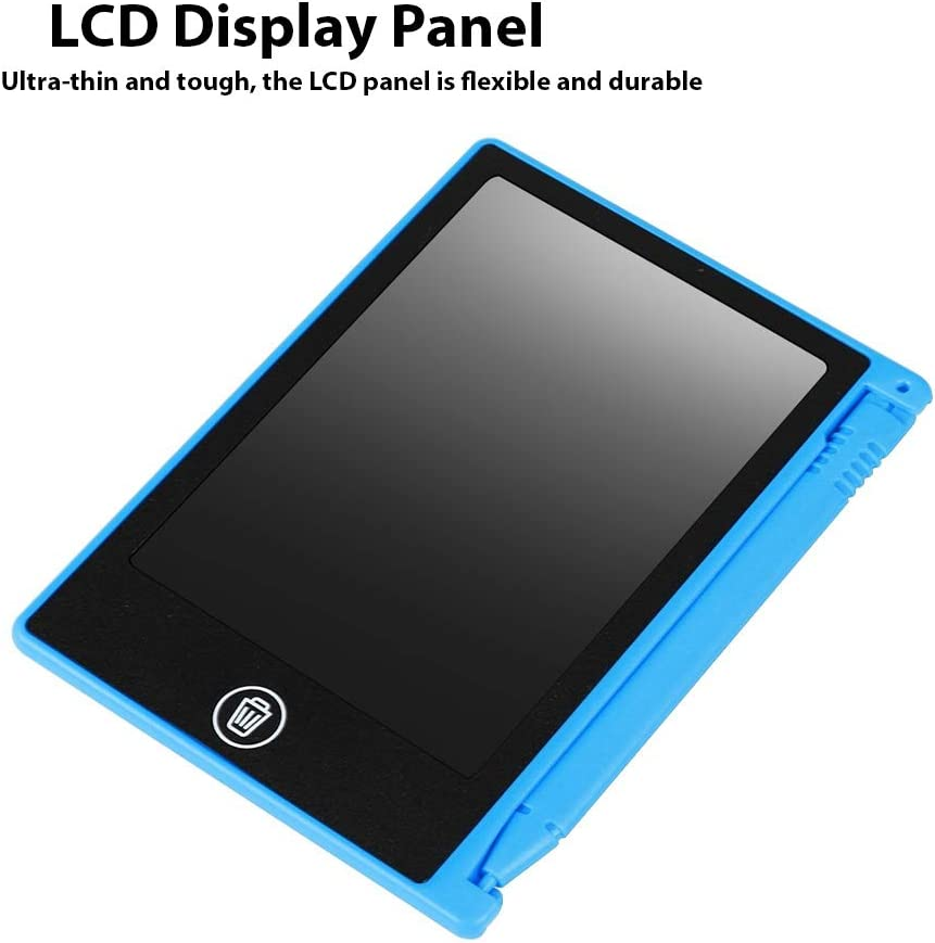 Ultrathin 4.5 inch LCD Display Digital Writing Board Paperless Graphics Tablet Mugast LCD Writing Tablet Portable Multifunction Handwriting Writing Board Writing Paint for Kids red