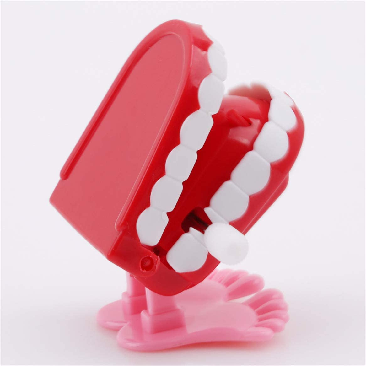 Kid Creative Funny Chattering Jumping Teeth Clockwork Toy Children Gifts UK