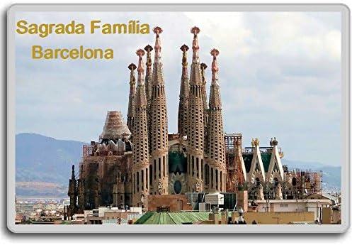 Barcelona//Sagrada Fam/ília//fridge//magnet Aimant de r/éfrig/érateur