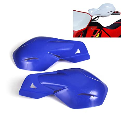 Blue Motocross Handguards 7//8 inch and 1 1//8 inches Hand Guards For Motorcycle Yamaha YZ80 YZ85 YZ125 YZ250 YZ250F Dirt Bike MX Supermoto Racing ATV Quad KAYO
