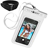 Kobert Waterproof Cell Phone Case (Pro White), Best Dry Bag For iPhone 7, 7 Plus, 6s, 6s Plus Samsung Galaxy s7...