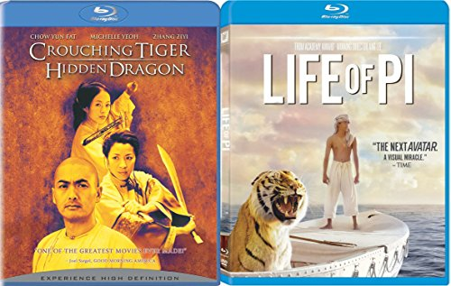 Life of Pi & Crouching Tiger Hidden Dragon Ang Lee Movie Set