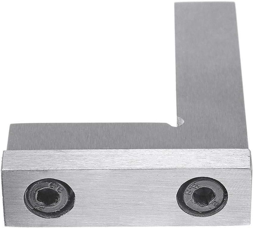 Machiniste /équerre 90 degr/és /à angle droit ing/énieur au sol en acier avec si/ège de Pr/écision Angle R/ègle 50x40 75x50mm 100x70mm 75x50