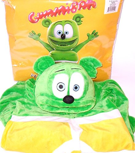 Official Gummibar costume ages 2 to 4 years halloween]()