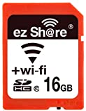 Wifi Sd Memory Card 16GB Class 10 New New Inc® 2nd Generation Ez