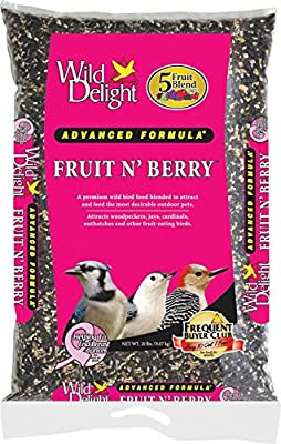 Wild Delight Fruit N' Berry Bird Food