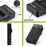 OAproda 2 Pack EN-EL20 Battery and Micro USB Charger for Nikon EN-EL20a, Nikon 1 J1, Nikon 1 J2, Nikon 1 J3, Nikon 1 S1, Nikon 1 V3, Nikon Coolpix A, Nikon 1 AW1 and Blackmagic Pocket Cinema Camera