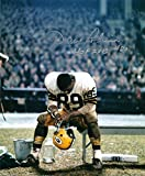 Autographed Dave Robinson 8X10 Green Bay Packers Photo