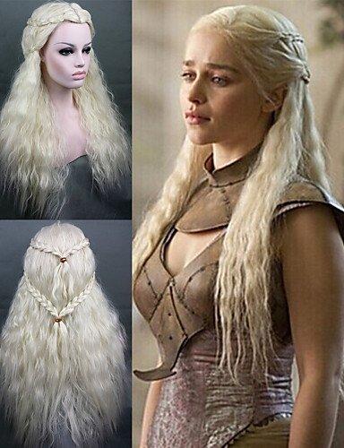 Peluca & XZL WIDMANN Fashion Cosplay peluca juego de los trônes Daenerys a inspirado la mode