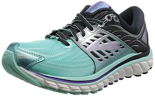 Brooks Womens Glycerin 14 Running Sneaker, Blue/Purple, 7 B(M) US