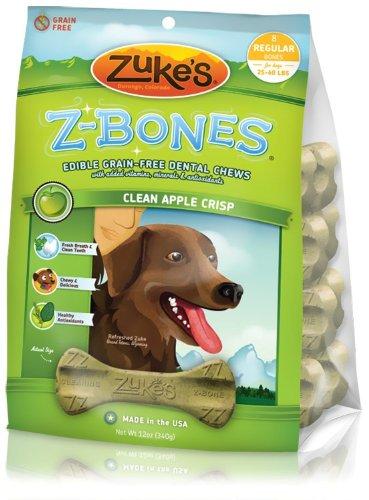 Z-Bone Box Treat Flavor: Apple, Size: Regular/8-Pack, My Pet Supplies