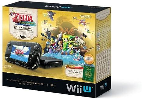 Nintendo Wii U - The Legend of Zelda™ - juegos de PC (Wii U, IBM PowerPC, AMD Radeon, SD, SDHC, 32 GB, 32 GB) Negro: Amazon.es: Videojuegos