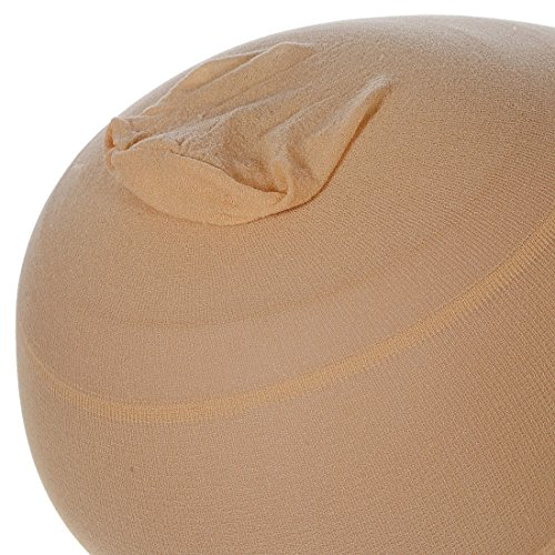 12 Pieces One Size Fits All Hair Net Skin Color Nylon Wig Caps for Women, Kids and Men by Meiyoo2 (Natural Nude Beige) by Meiyoo (Image #3)