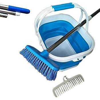 Amazon Com Qingqiu Floor Deck Scrub Brush Kit Stiff Brush