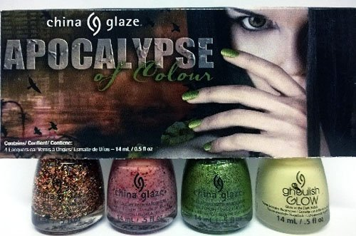 China Glaze 4 Piece Apocalypse of Color Kit ()