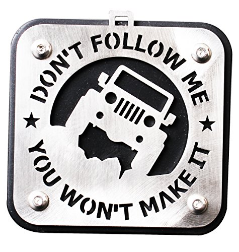 Tow Trailer Hitch Receiver Cover Accessories Series Towing (Jeep Hitch Cover)
