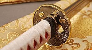 Hand Made Black 1095 Carbon Steel Japanese Samurai Katana Sword Very Sharp