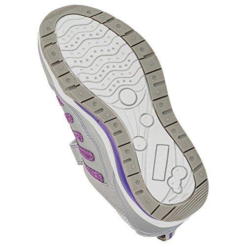 Max - Zapatillas de running de Material Sintético para niña - #824 Silber