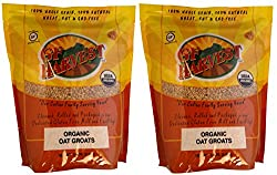 Gf Harvest Organic Oat Groats, Gluten Free, 5 Pound Bag (Pack Of 2)