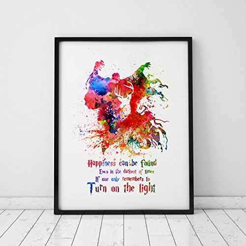 Amazon Albus Dumbledore Quotes Watercolor Wall Art Harry Potter