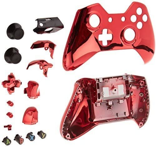 Game Bully Xbox One Controller Full Housing Shell - Chrome Red by ...