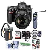 Cheap Nikon D750 FX-Format DSLR Camera with AF-S NIKKOR 24-120mm f/4G ED VR Lens – Bundle with 32GB SDHC, Camera Bag, 77mm Filter Kit, Cleaning Kit, Card Reader, Card Case, Remote Shutter Trigger, Software