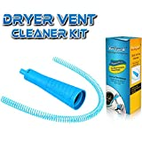 Dryer Vent Cleaner Kit Vacuum Hose Attachment Brush Lint Remover Power Washer and Dryer Vent Vacuum Hose