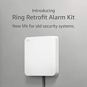Introducing Ring Retrofit Alarm Kit - existing wired security system and Ring Alarm required, professional installation recommended