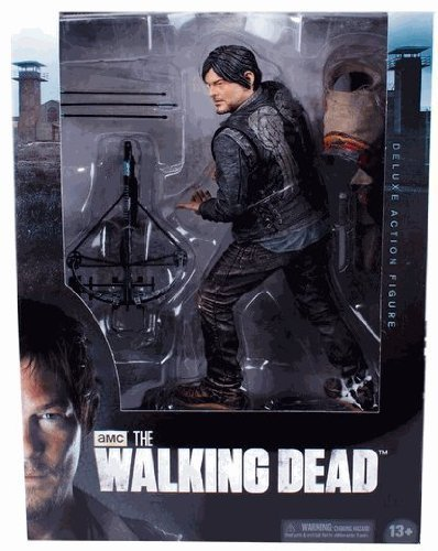 McFarlane Toys AMCs The Walking Dead TV Daryl Dixon 10 Deluxe Action Figure Mcfarlane Deluxe Figure