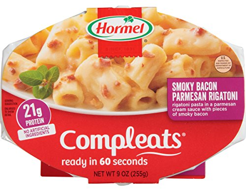 Hormel Compleats Smoked Bacon Parmesan Rigatoni, 9 Ounce (Pack of - Rigatoni Meal