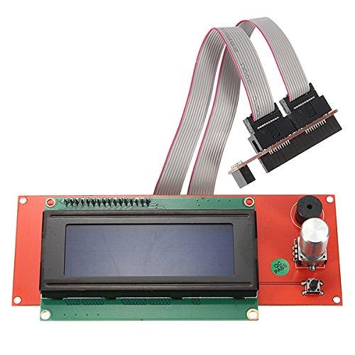 3D Printer Reprap Ramps 1.4 2004 LCD Smart Controller Display Adapter BephaMart BM00001