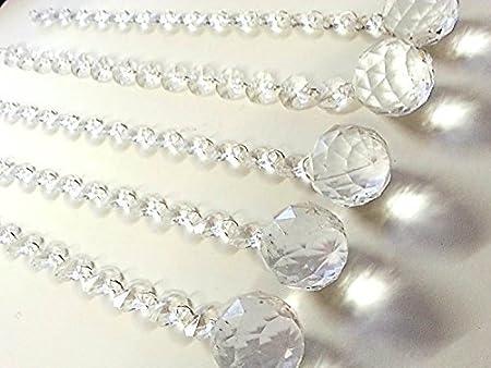 Ad1 5 acrylic diamante crystal chandelier drops candlabras wedding ad1 5 acrylic diamante crystal chandelier drops candlabras wedding decoration ad1 aloadofball Images