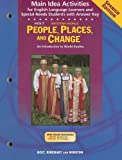 People, Places and Change, Holt, Rinehart and Winston Staff, 0030401984