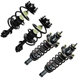 Shock Strut Spring Assembly Front Rear Kit Set of 4 for Dodge Caliber Jeep Patriot (MK) Compass (MK)
