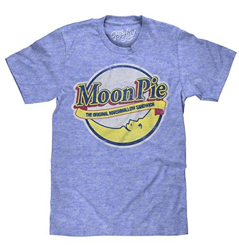 Moon Pie T-Shirt - The Original Marshmallow Sandwich MoonPie Shirt (Medium) ()