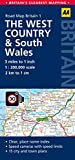 West Country & Wales Road Map (AA Road Map Britain)