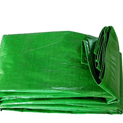 Tarpaulin Outdoor Sunshade Rainproof Tarpaulin Polyethylene Woven Tarpaulin (Energy A++) (Size : 4x6M) Carl Artbay tarpaulin (Size : 8x10m) ()