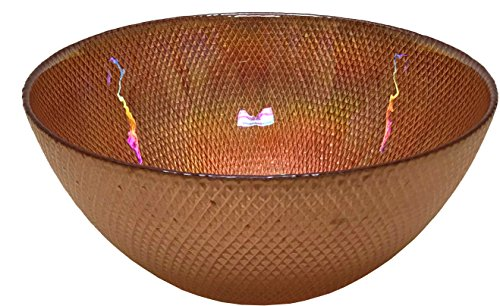 - Circleware 03119 Radiance Glass Serving Mixing Fruit Bowl Glassware for Salad, Punch, Beverage, Ice Cream, Dessert, Food and Best Selling Home & Kitchen Decor Gifts, 10