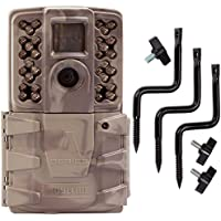 Moultrie A-30i 12MP 60 HD Video No Glow Infrared Game Trail Camera + Tree Mount