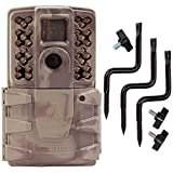 Moultrie A-30i 12MP 60' HD Video No Glow Infrared Game Trail Camera + Tree Mount