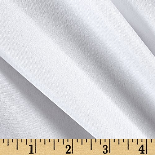 - Preview Textile Group 100% China Silk Lining Fabric by The Yard White