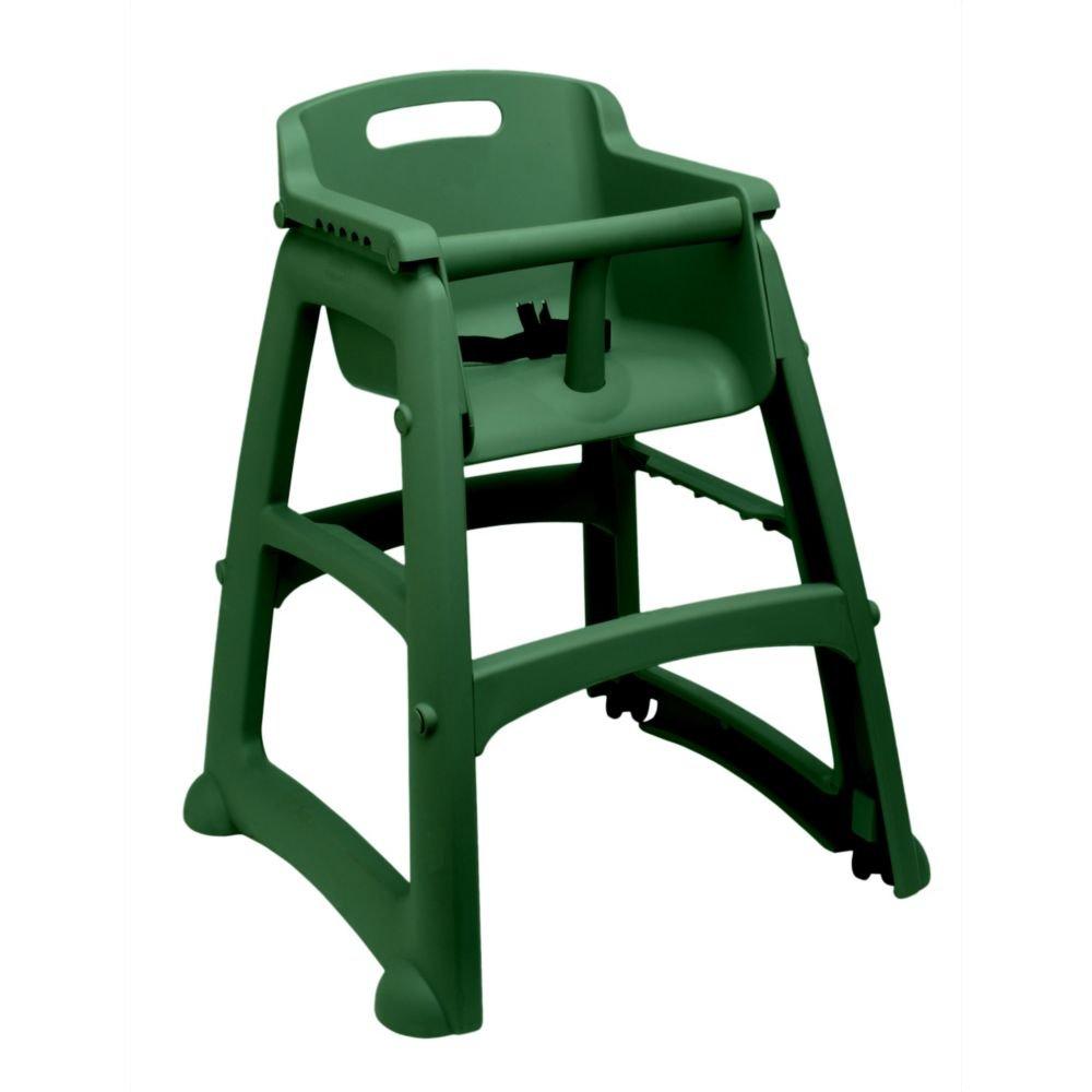 Rubbermaid FG781408DGRN Sturdy Chair Green Youth Seat w/o Wheels