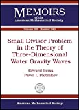 Small Divisor Problem in the Theory of Three-Dimensional Water Gravity Waves, Gerard Iooss and Pavel I. Plotnikov, 0821843826