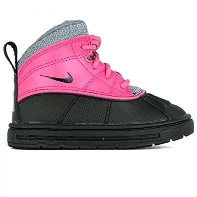 Nike Woodside 2 High (TD) Baby Pink Foil Cool Grey Black 524878-600 6e6344d6c
