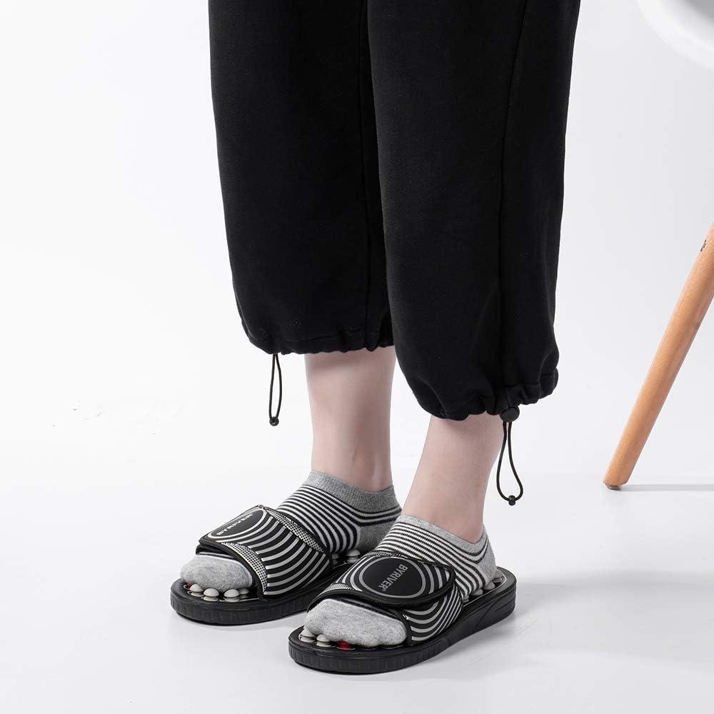 BYRIVER  F002 Chaussons pour femme Chaussons de massage /à ressort Men 10-11.5