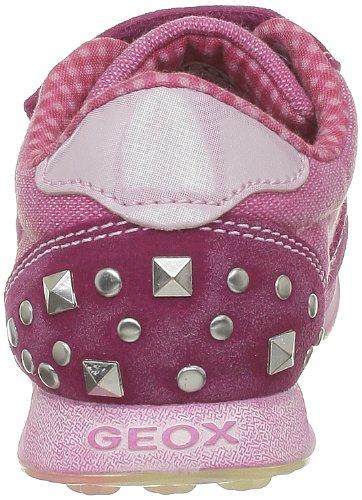 Geox - Zapatillas de deporte de tela para niña Rosa (Rose (C8002))