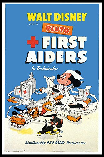 First Aiders Fridge Magnet 6x8 Mini Mouse Walt Disney Magnetic Movie Poster